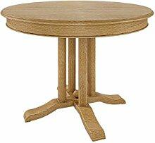 casamia Esstisch Tisch rund ø 110 cm Allegro mit