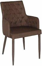 casamia Esszimmer-Stuhl mit Armlehnen Bettina