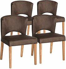 casamia Esszimmer-Stuhl Set Rimini 4 Stück
