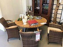 casamia Sitzgruppe Fjord Garten-Tisch Esstisch