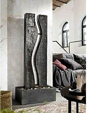 casaNOVA Zimmerbrunnen 139 cm Materialmix braun