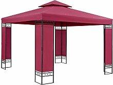 Casaria Pavillon Lorca 3x3m Stabil Wasserabweisend