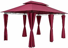 Casaria Pavillon Topas 3x4m Wasserabweisend Metall