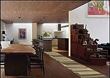 Casatessile Listelli 50 cm Breite Küche Teppich.