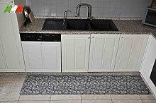 Casatessile Silver 50 cm Breite Küche Teppich. -
