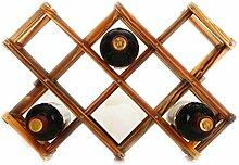 Casavidas Klassisches Weinregal aus Holz für