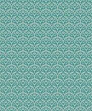 CASELIO Power Tapete, Hintergrund geometrisches Prägung, türkis