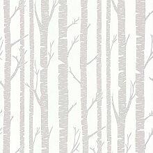 CASELIO Shades 67869033-Tapete mit Holz von