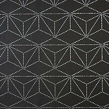 CASELIO Tapete 65109090von geometrischen Zeichnungen in Farbe lila und Hintergrund in grau