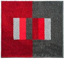 Casilin Badteppich, Acryl, Rot, 60x 50cm