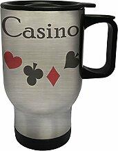 Casino Edelstahl Thermischer Reisebecher 14oz