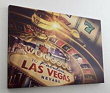 Casino Glücksspiel Las Vegas Leinwand Bild