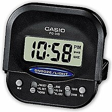 Casio PQ-30B-1EF Digitale Wecker, Kunststoff,