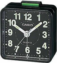 Casio TQ-140-1 Wecker, schwarz