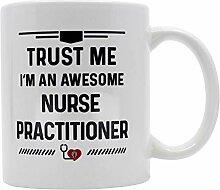 Casitika Krankenschwester, Geschenk. Kaffeetassen