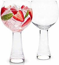 Cask & Olive Orb Ballon Gin Glas, 2er Set Copa
