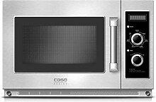 Caso C1800M Gewerbe-Mikrowelle mit Keramikboden,