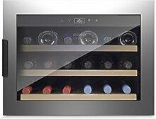 Caso WineSafe 18 Inox Black Design