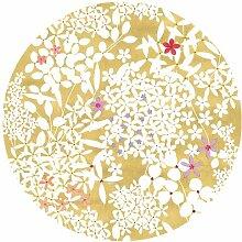 Caspari Salatteller, Blumenmuster, Spitze, Multi Color,