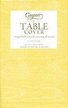 Caspari Tischdecke aus Papier bedruckt gelb