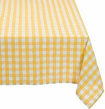 Cassa Luyton Cuba Tischdecke mit Saum, 140x 200cm, gelb