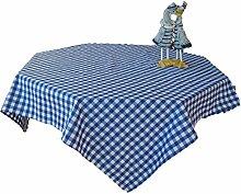 Cassa Luyton Cuba Tischdecke, rund, Baumwolle/Polyester, Blau, blau, 140 x 300
