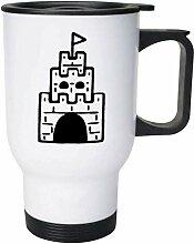 Castle' Ceramic Mug/Travel Coffee Mug