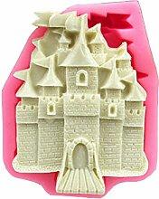 Castle Modeling Fondant Sugarcraft Cake Form DIY