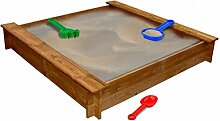 CASTLOVE Sandkasten Holz Quadratisch
