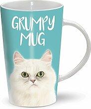 Cat - Katze - Grumpy Mug - Becher - Latte