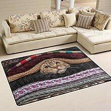 Cat Versteck Wolldecke Teppich Indoor Polyester