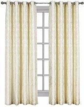 Catalina, Top Tülle Jacquard Fenster Vorhang