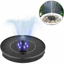 CatcherMy Springbrunnen Solar Garten 2.4W Mini LED