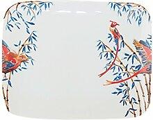Catchii Bambus und singende Vögel Rechteck
