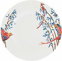 Catchii Bambus und singende Vögel Teller,
