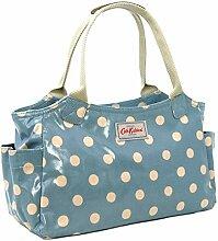 Cath Kidston Tagestasche, Wachstuch, gepunktet,