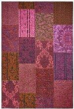 Cats Collection trendiger Teppich Patchwork Optik