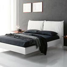 Cattelan Italia LUKAS Bett mit Softlederbezug