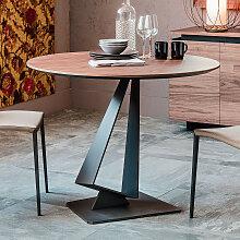 Cattelan Italia ROGER Esstisch mit Holzplatte