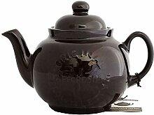 Cauldon Ceramics Teekanne mit Teesieb Betty Logo,