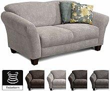 CAVADORE 2-Sitzer Gootlaand / Großes Sofa im
