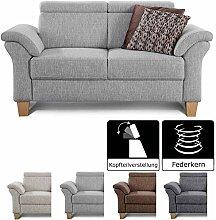 Cavadore 2-Sitzer Sofa Ammerland / Couch mit