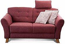 Cavadore 2-Sitzer-Sofa / Moderne Couch im