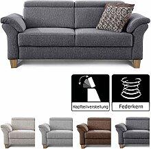 Cavadore 3-Sitzer Sofa Ammerland / Couch mit