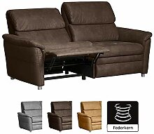 Cavadore 3-Sitzer Sofa Chalsay inkl. Relaxfunktion