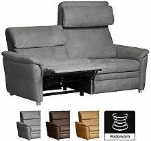 Cavadore 3-Sitzer Sofa Chalsay inkl. verstellbarem
