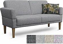 Cavadore 3er Sofa Femarn / Küchensofa für