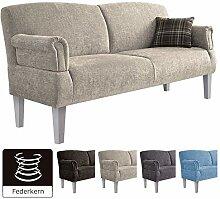 Cavadore 3er Sofa Pasle für Küche, Esszimmer /