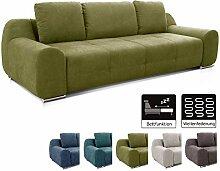 Cavadore Big Sofa Benderes / Schlafsofa mit