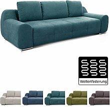 Cavadore Big Sofa Benderes / XXL-Couch mit